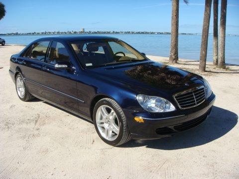Capri Blue Metallic 2003 Mercedes-Benz S 430 Sedan
