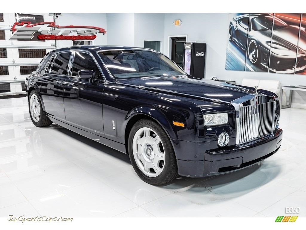 Blue Velvet / Cacao/Oatmeal Rolls-Royce Phantom