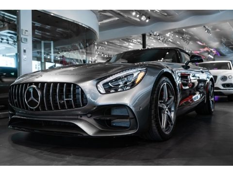Selenite Grey Metallic 2019 Mercedes-Benz AMG GT Roadster