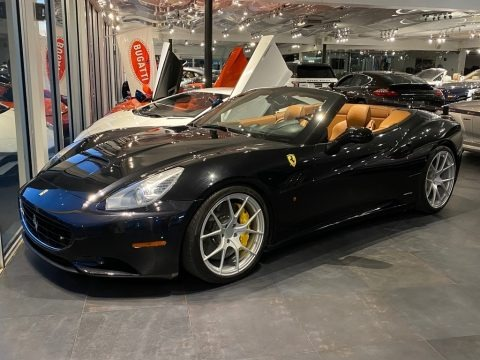 Nero Daytona (Black Metallic) 2010 Ferrari California