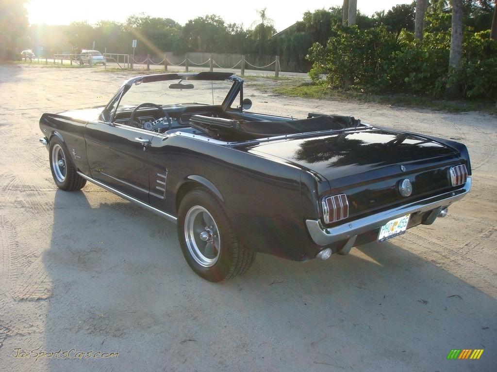 1966 Mustang Convertible - Nightmist Blue / Light Blue photo #5