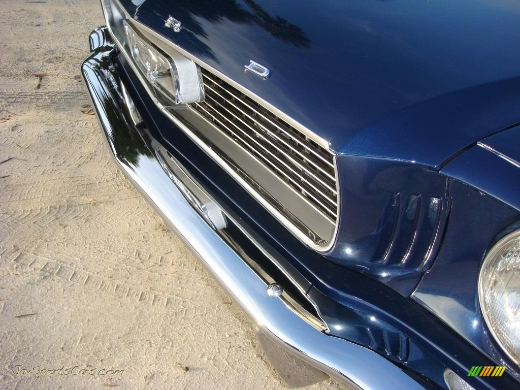 1966 Mustang Convertible - Nightmist Blue / Light Blue photo #11