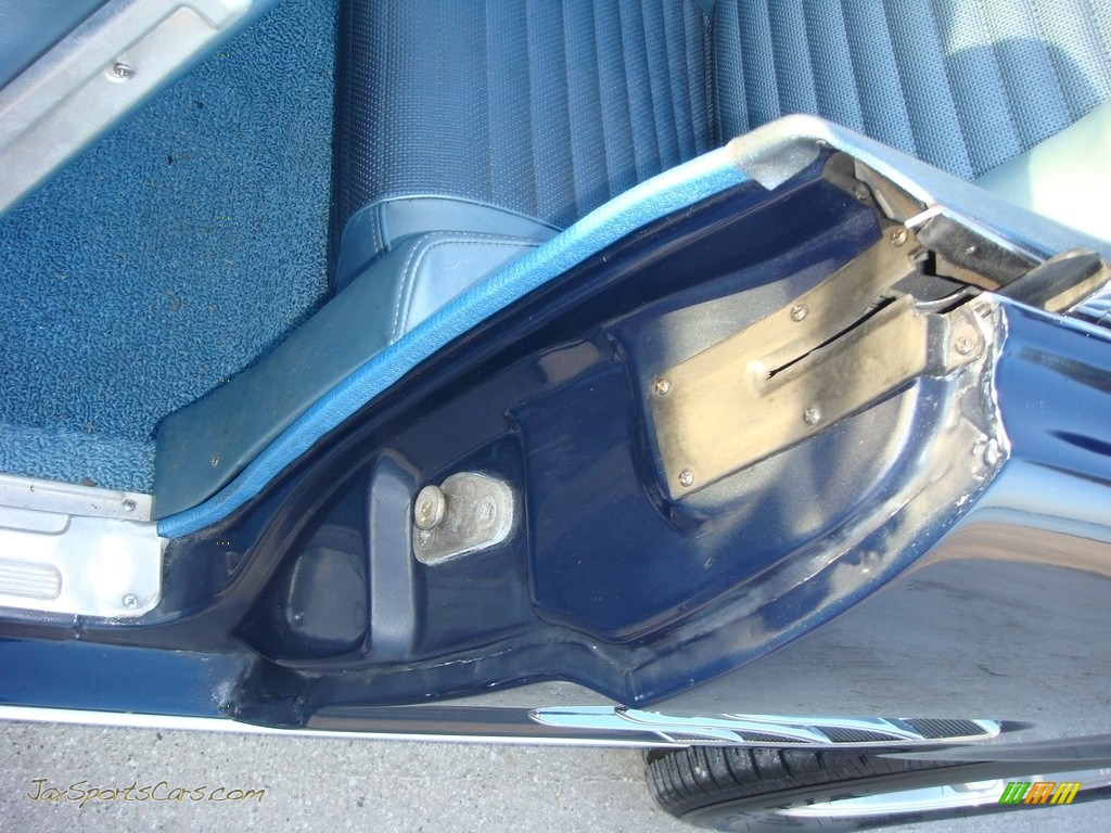 1966 Mustang Convertible - Nightmist Blue / Light Blue photo #14