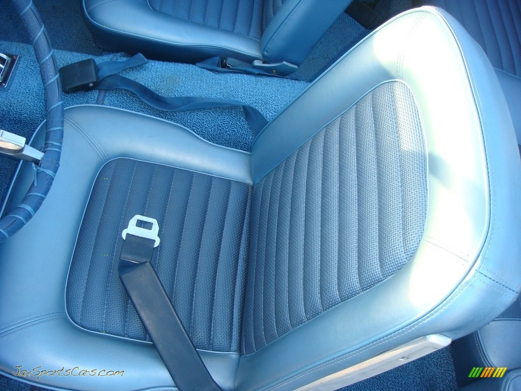 1966 Mustang Convertible - Nightmist Blue / Light Blue photo #15