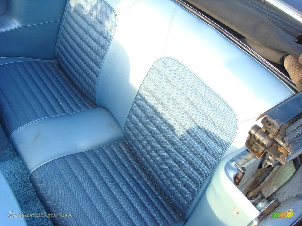 1966 Mustang Convertible - Nightmist Blue / Light Blue photo #17