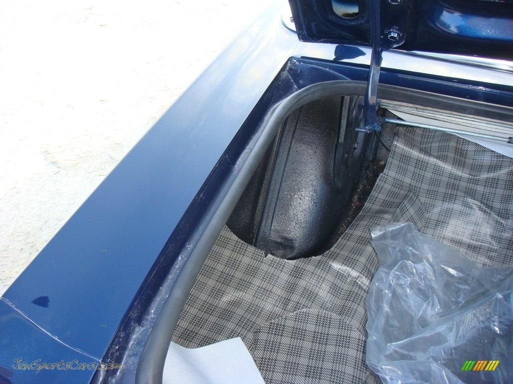 1966 Mustang Convertible - Nightmist Blue / Light Blue photo #22
