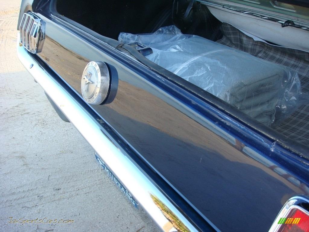 1966 Mustang Convertible - Nightmist Blue / Light Blue photo #23