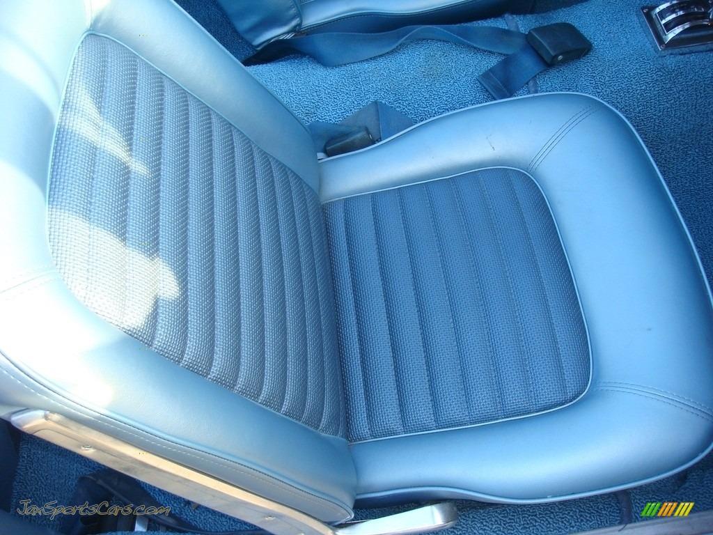 1966 Mustang Convertible - Nightmist Blue / Light Blue photo #28