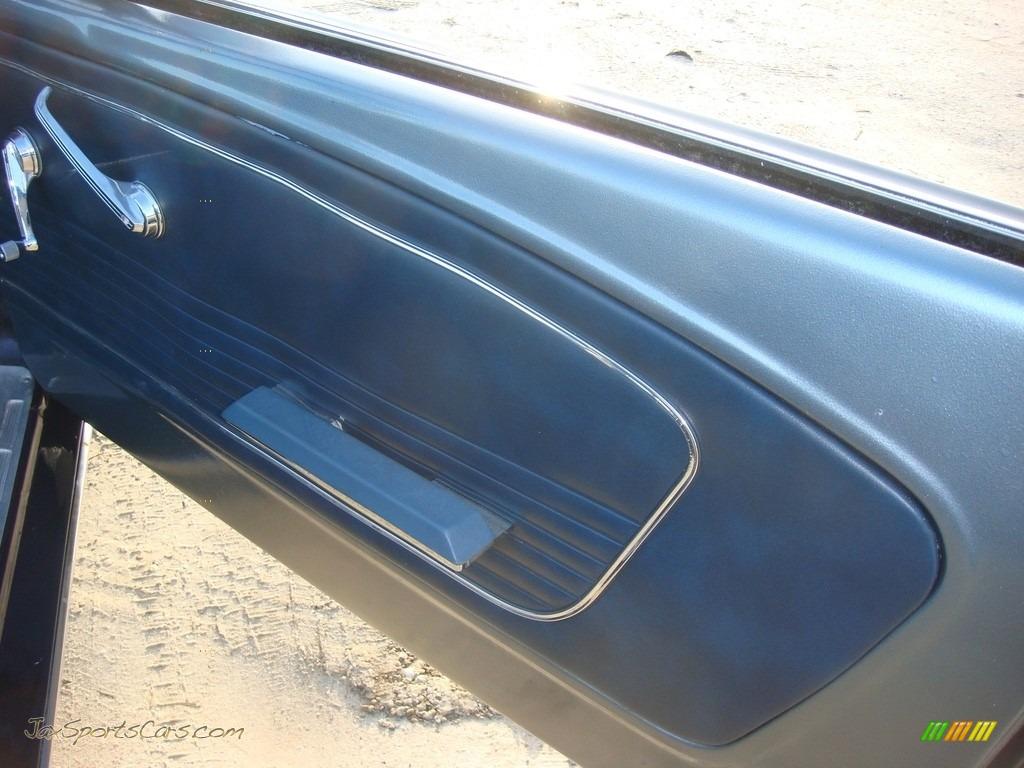 1966 Mustang Convertible - Nightmist Blue / Light Blue photo #30