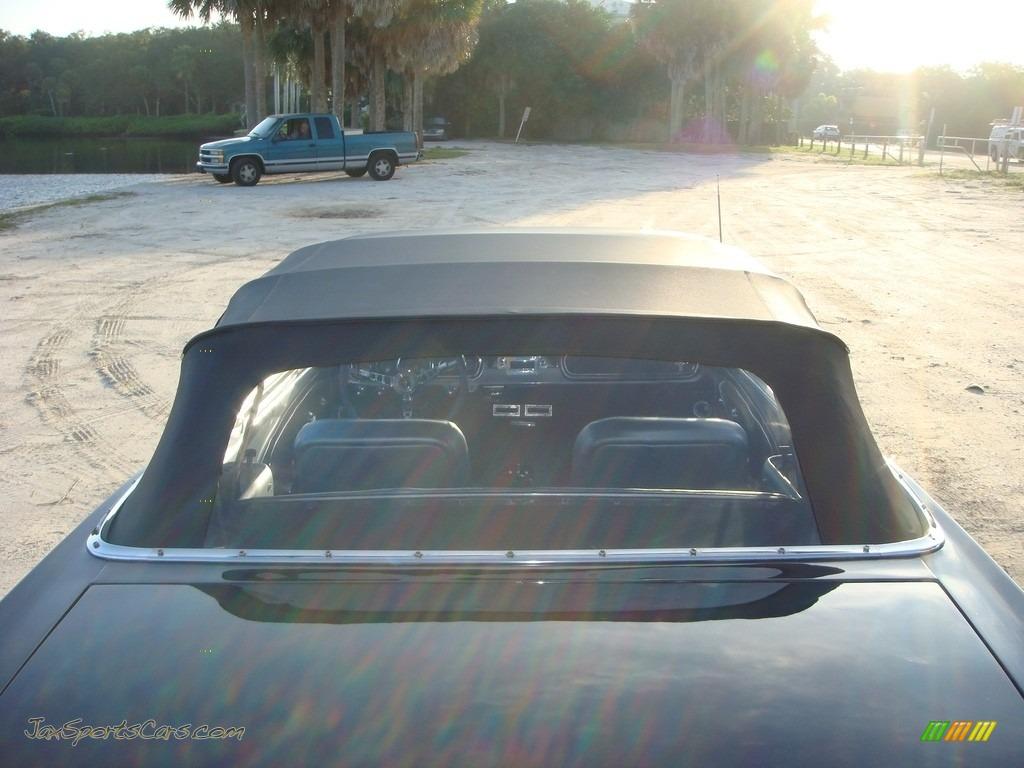 1966 Mustang Convertible - Nightmist Blue / Light Blue photo #35
