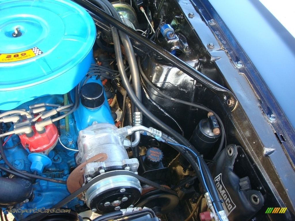 1966 Mustang Convertible - Nightmist Blue / Light Blue photo #41