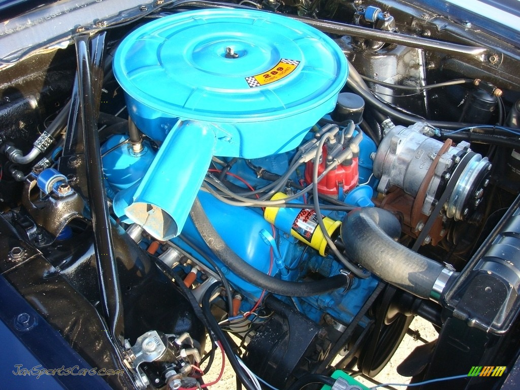 1966 Mustang Convertible - Nightmist Blue / Light Blue photo #45