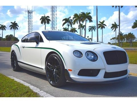 Glacier White 2015 Bentley Continental GT GT3 R