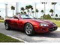 Jaguar XK XK8 Convertible Carnival Red Pearl Metallic photo #1