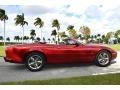 Jaguar XK XK8 Convertible Carnival Red Pearl Metallic photo #2