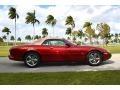 Jaguar XK XK8 Convertible Carnival Red Pearl Metallic photo #5