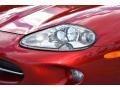 Jaguar XK XK8 Convertible Carnival Red Pearl Metallic photo #15