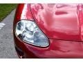 Jaguar XK XK8 Convertible Carnival Red Pearl Metallic photo #19