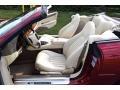 Jaguar XK XK8 Convertible Carnival Red Pearl Metallic photo #25