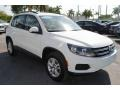 Volkswagen Tiguan S Pure White photo #2