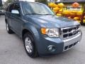 Ford Escape Limited V6 Steel Blue Metallic photo #1