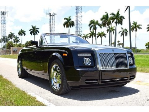 Diamond Black 2008 Rolls-Royce Phantom Drophead Coupe