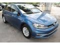 Volkswagen Golf S Silk Blue Metallic photo #2