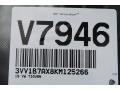 Volkswagen Tiguan S Platinum Gray Metallic photo #20