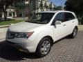 Acura MDX  Aspen White Pearl photo #35