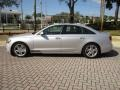 Audi A6 3.0T quattro Sedan Ice Silver Metallic photo #3