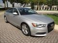 Audi A6 3.0T quattro Sedan Ice Silver Metallic photo #14