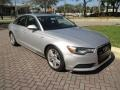 Audi A6 3.0T quattro Sedan Ice Silver Metallic photo #33