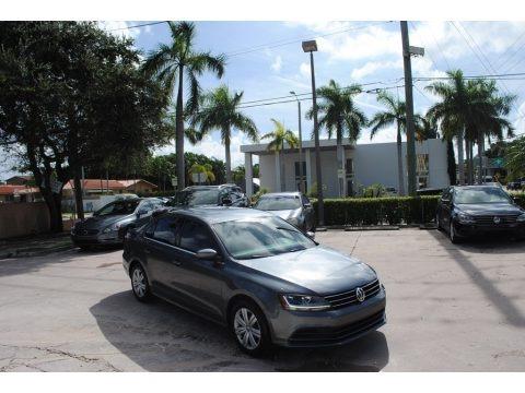 Platinum Gray Metallic 2017 Volkswagen Jetta S