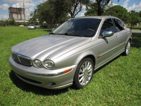 Platinum Metallic 2006 Jaguar X-Type 3.0