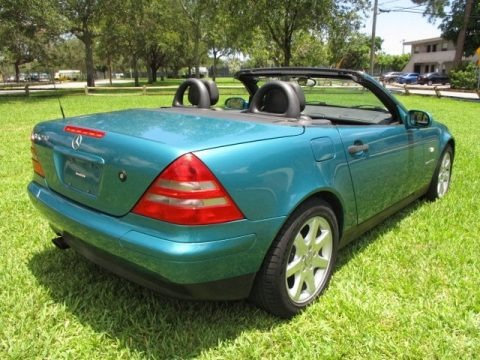 Calypso Green Metallic 1998 Mercedes-Benz SLK 230 Kompressor Roadster