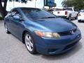 Honda Civic LX Coupe Atomic Blue Metallic photo #1