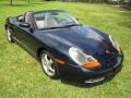 Porsche Boxster  Ocean Blue Metallic photo #13
