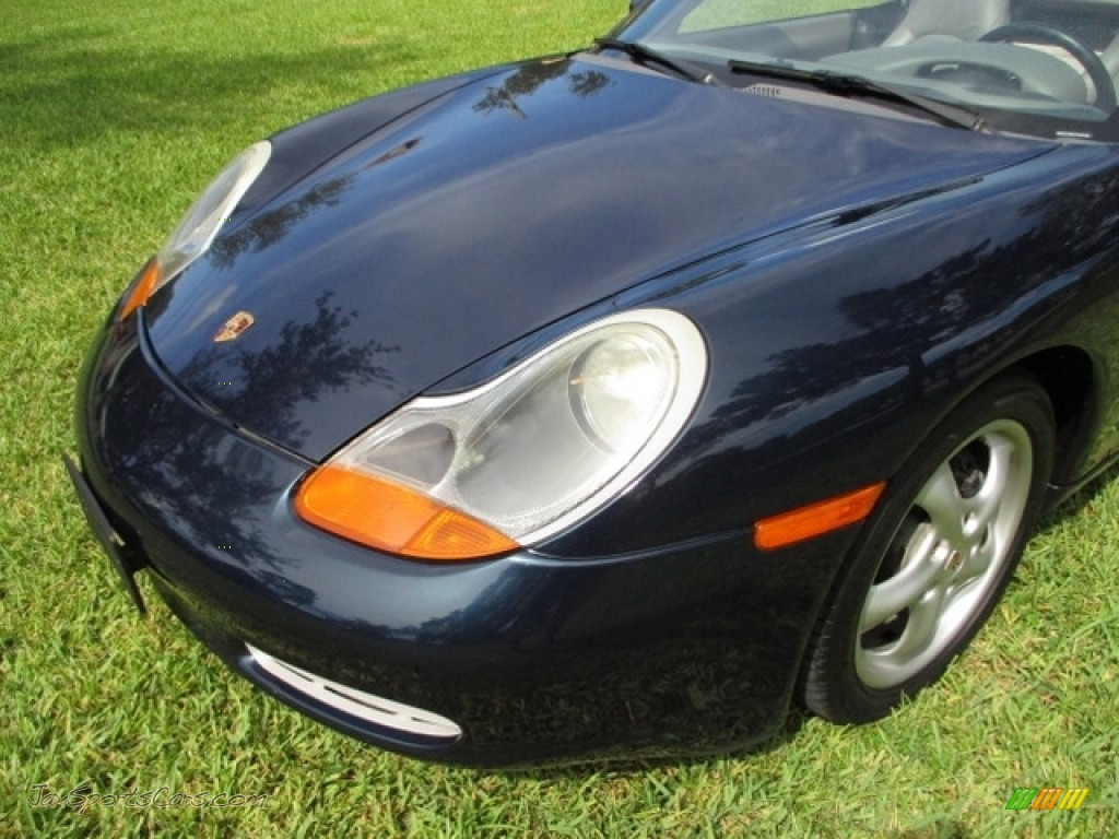 2000 Boxster  - Ocean Blue Metallic / Graphite Grey photo #17