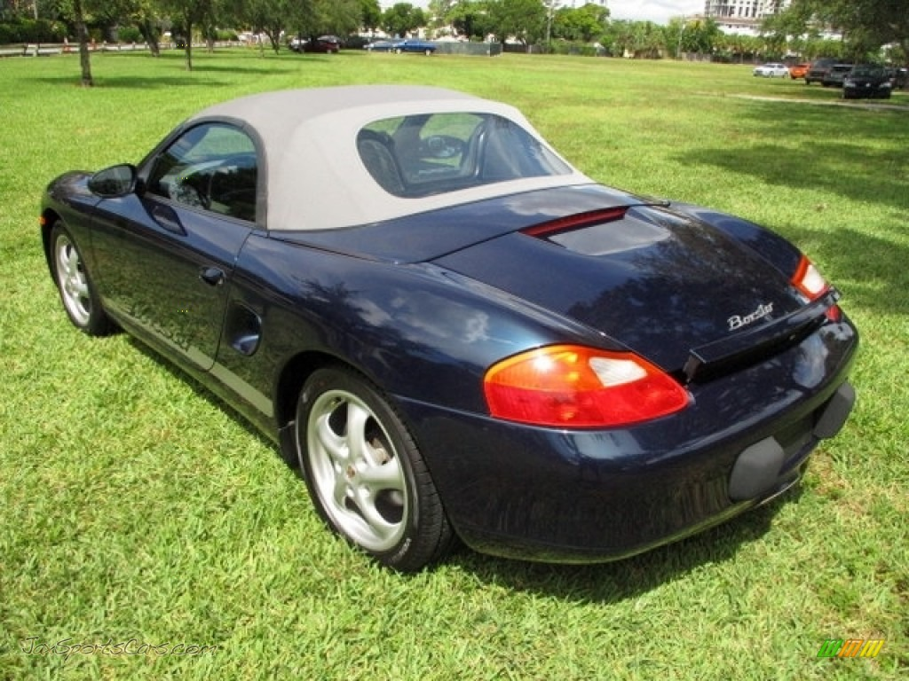 2000 Boxster  - Ocean Blue Metallic / Graphite Grey photo #51