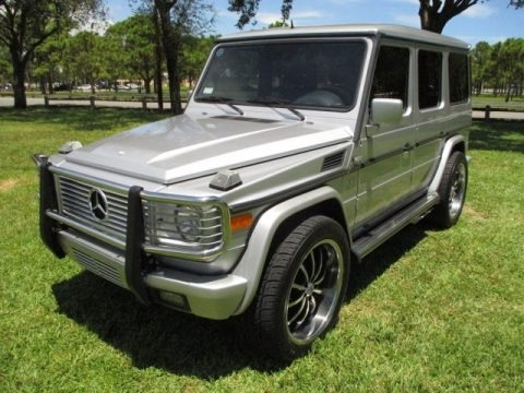 Brilliant Silver Metallic 2002 Mercedes-Benz G 500