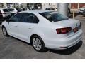 Volkswagen Jetta S White Silver photo #6