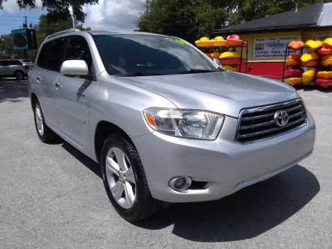 Classic Silver Metallic 2008 Toyota Highlander Limited