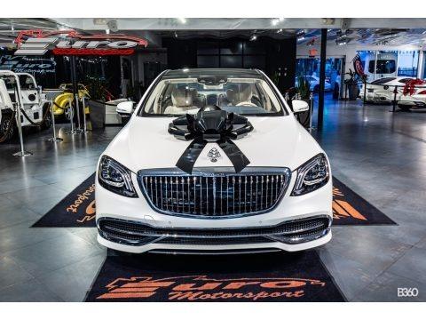 designo Cashmere White Magno (Matte) 2020 Mercedes-Benz S Maybach S650