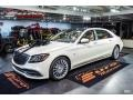 Mercedes-Benz S Maybach S650 designo Cashmere White Magno (Matte) photo #2