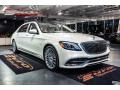 Mercedes-Benz S Maybach S650 designo Cashmere White Magno (Matte) photo #38