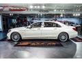 Mercedes-Benz S Maybach S650 designo Cashmere White Magno (Matte) photo #39