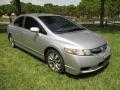 Honda Civic EX Sedan Alabaster Silver Metallic photo #1