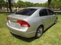 Honda Civic EX Sedan Alabaster Silver Metallic photo #5