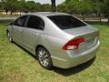 Honda Civic EX Sedan Alabaster Silver Metallic photo #9