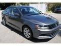 Volkswagen Jetta S Platinum Gray Metallic photo #2